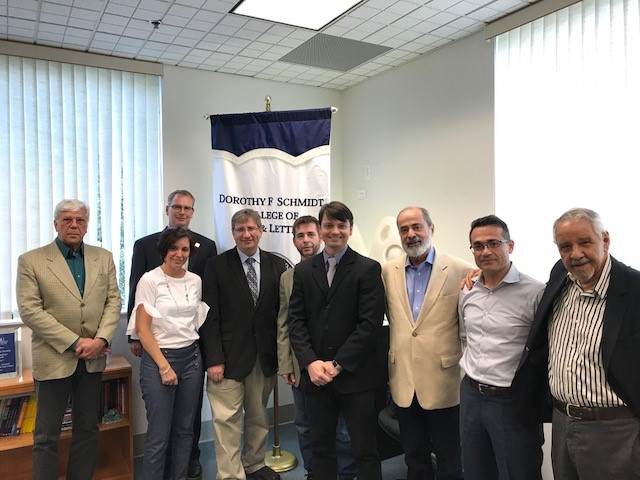 Acordo  INEST/UFF e  Florida Atlantic University