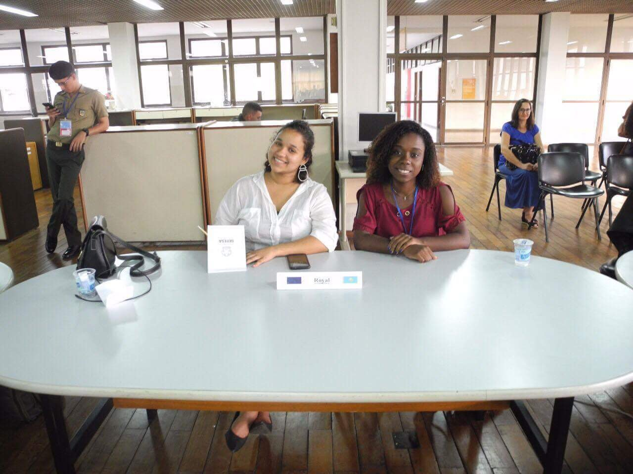 Discentes do INEST participam da simulação das Nações Unidas na AMAN